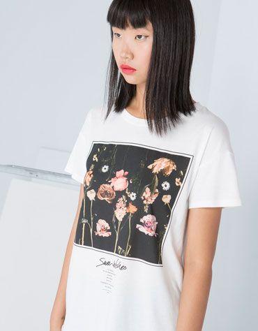 Bershka Russian Federation -Bershka floral top 800