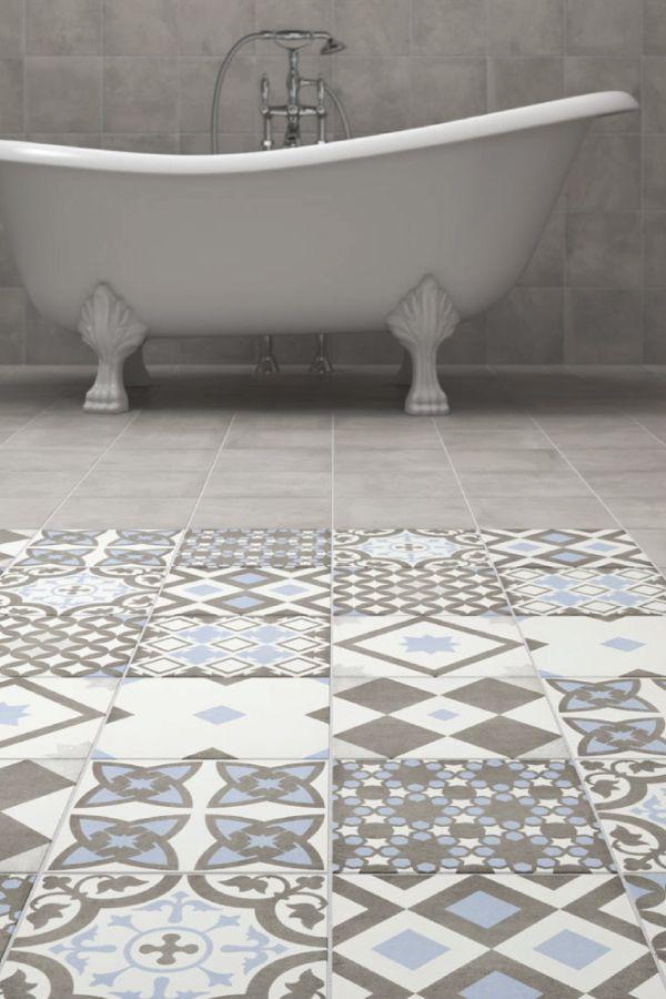 211 best Bathroom Tiles images on Pinterest | Bathroom, Half ...