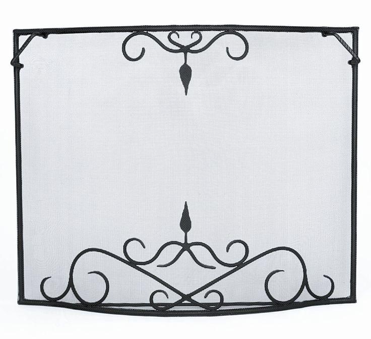 Fireplace Design fireplace screens target : Top 25+ best Wrought iron fireplace screen ideas on Pinterest