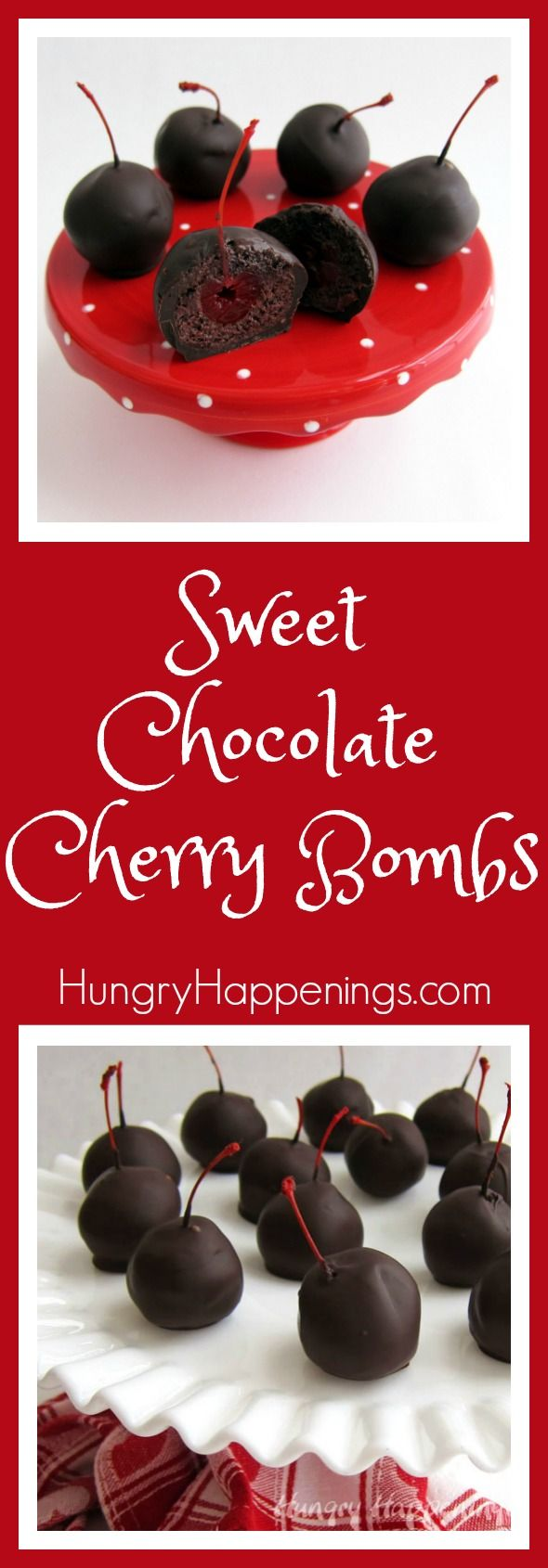 Drop a love bomb on your significant other and give them a classic. These Sweet Chocolate Cherry Bombs will melt in your mouth and give your taste buds an explosion of flavor.