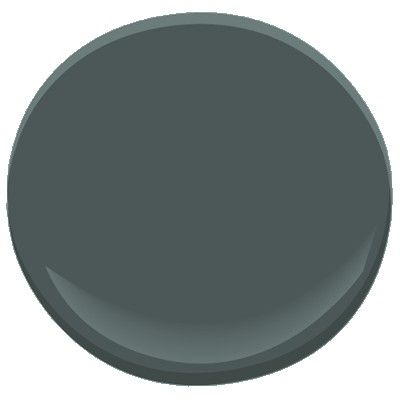 BM Dark Pewter. A blue undertone distinguishes this deep, decorative shade of gray, a color so stylish and versatile it works equally well in traditional and modern spaces.   (This color is part of our Candice Olson Designer Picks collection.