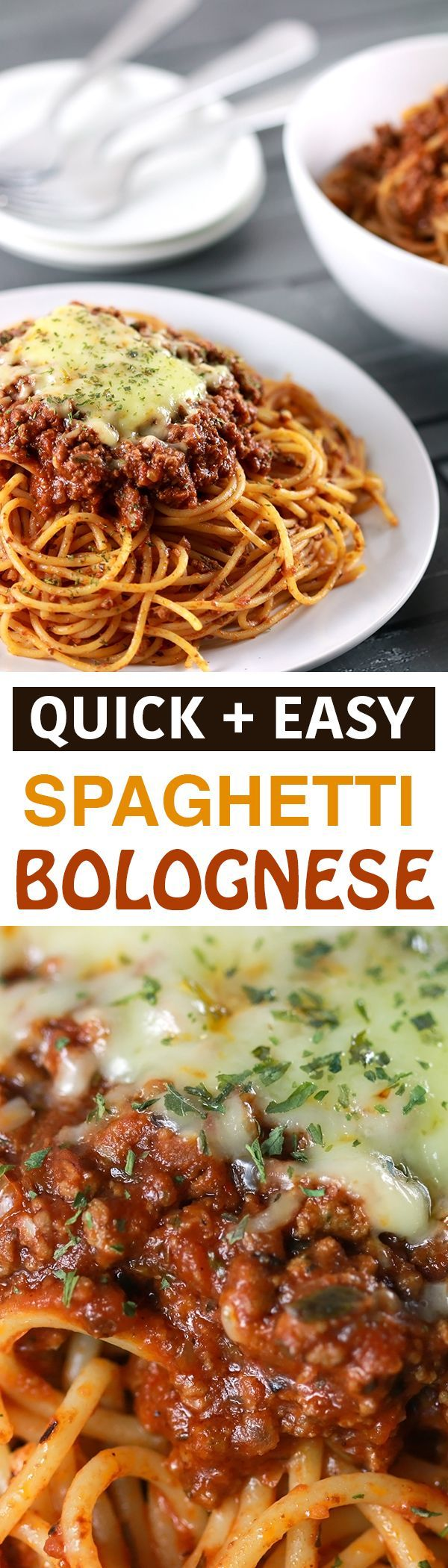 If there is one recipe for Spaghetti Bolognese that you need to know, this is it! You'll be amazed that this simple recipe can create such a tasty pasta! | http://ScrambledChefs.com