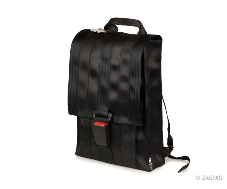 City backpack - BLK 48-17, upcycled