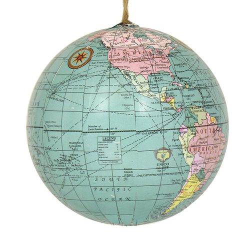 Image result for world globe ornaments wholesale
