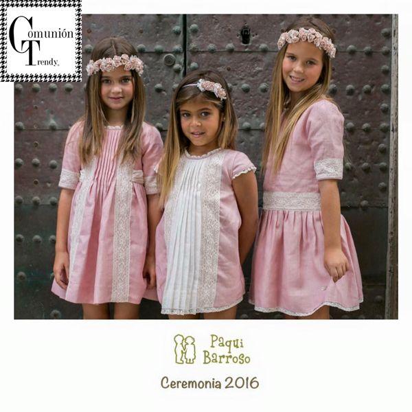 Precios vestidos de comunion de paqui barroso