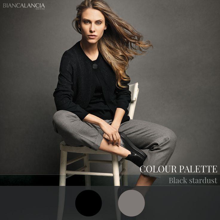Black Stardust Color Palette  #Biancalancia