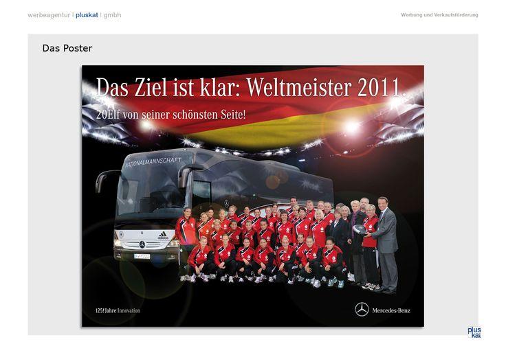 Wandkalender für Frauen-WM 2011