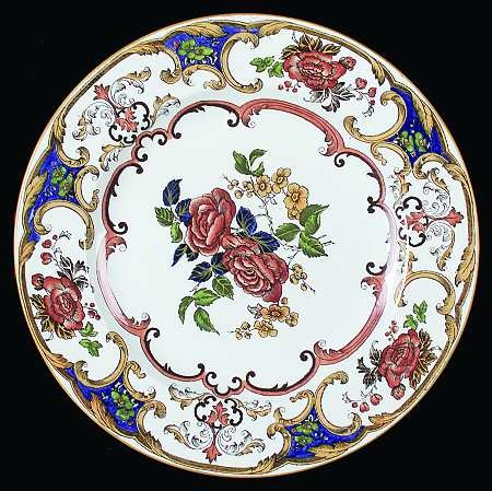Camelia  china pattern with red roses yellow gold flowers u0026 royal blue  sc 1 st  Pinterest & 142 best WEDGWOOD: DINNERWARE images on Pinterest | Wedgwood ...