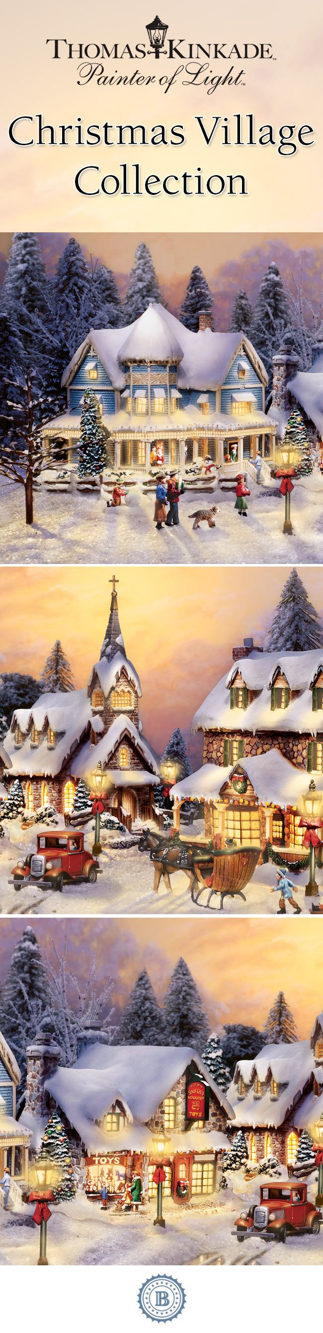 best 25 christmas village collections ideas on pinterest