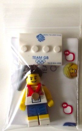 Lego Team GB Olympics Minifigures - Relay Runner Set #8909 (UK Exclusive) by LEGO. $15.87