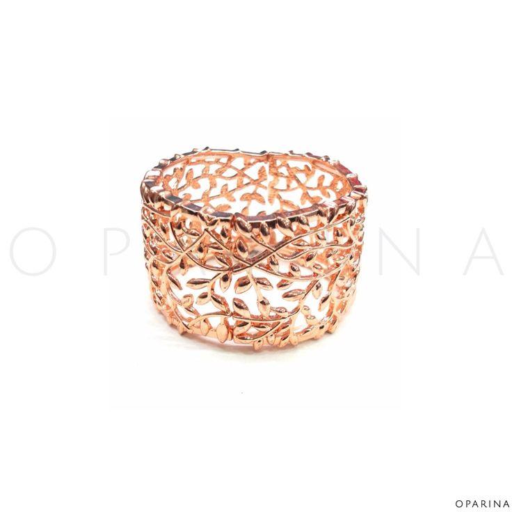 Pulsera Gold Rose en Oparina.#oparina #goldrose #bangle #statement #boho #bohochic #gypsy #trendy  #madewithstudio