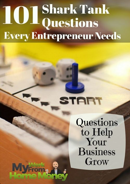 You don't have to be looking for a business investor to use these common shark tank questions. I use my experience as a venture capital analyst to show you how to develop, grow and make more money with these simple business questions.