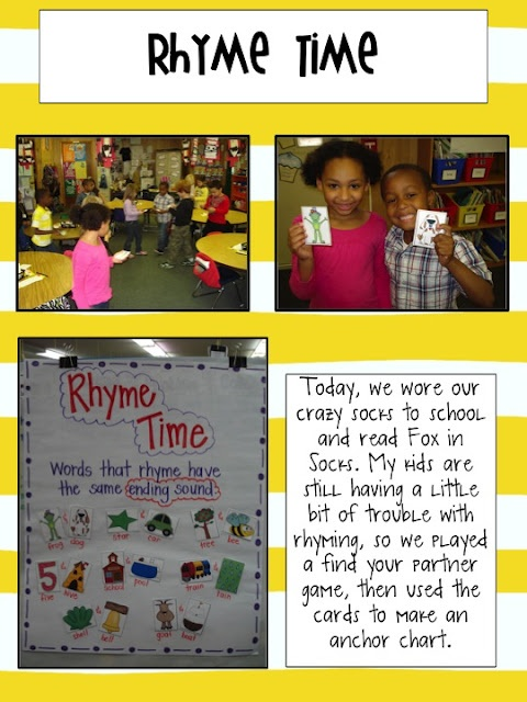 Rhyming Fun Website, Rhymes Anchors, Schools Ideas, Anchor Charts, Rhymes Games, Kindergarten Blog, Anchors Charts, Big Sales, Rhymes Time