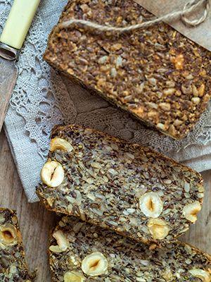 Rezept für Chia Samen Brot ohne Mehl