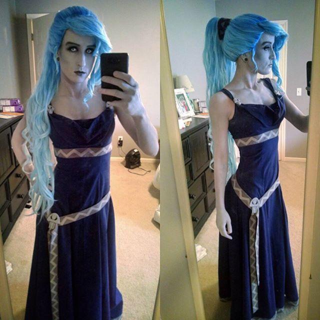 Full costume- Megara as Hades.