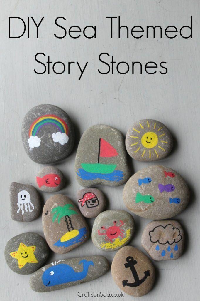 Befolgen Sie diese einfache Geschichte Steine …