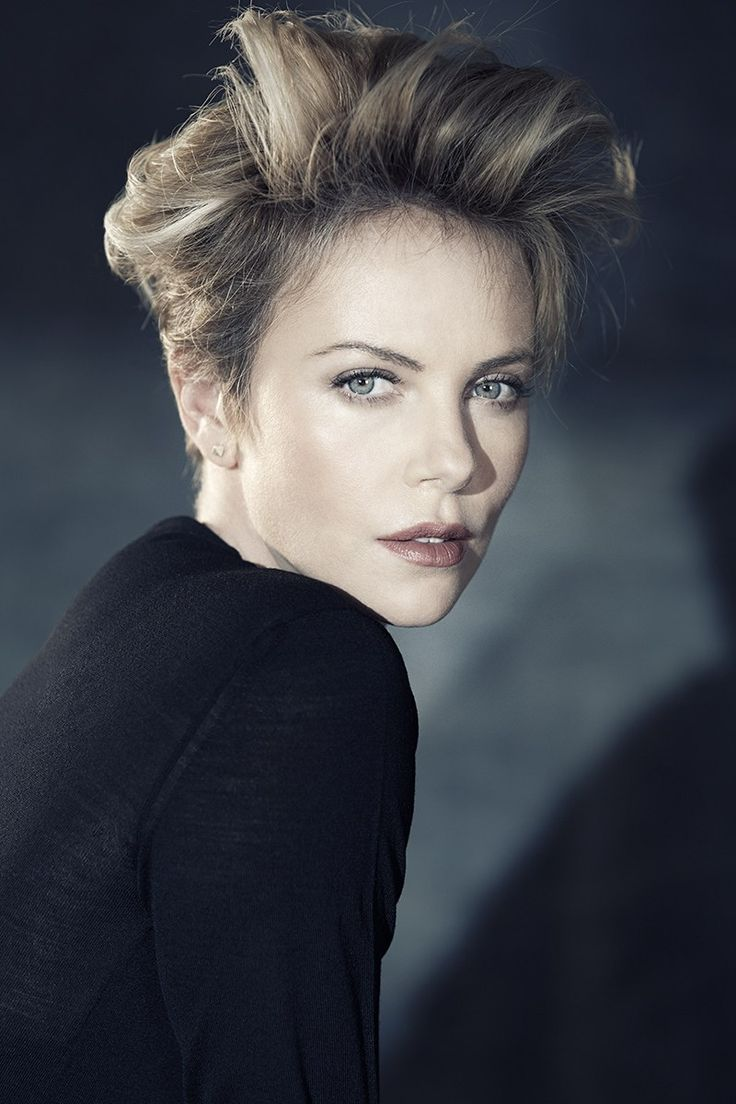 Charlize Theron  photographed by