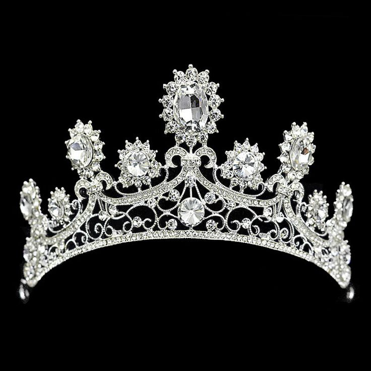 Vintage Crystal Silver Plated Crown Bridal Headwear Wedding Tiara Hair Accessories New Sunflower Hair Jewelry for Bride * AliExpress Affiliate's buyable pin. Item can be found on www.aliexpress.com by clicking the VISIT button