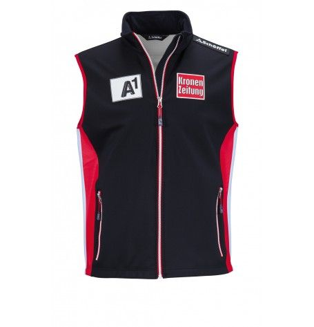The original Race Vest of the Austrian ski team is perfect for competition warm-ups and training sessions. This exclusive Vest gives you optimal protection from wind while keeping you dry, and the tough corduroy fabric is designed to withstand the stress of slalom training.