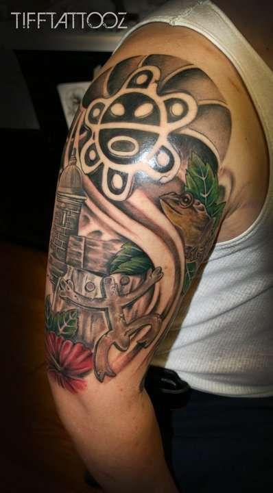 Puerto Rican Tattoo - Taino Symbolism