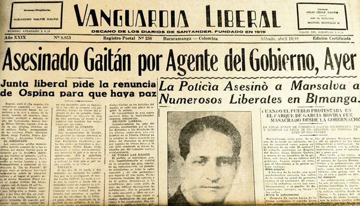 http://www.banrepcultural.org  -  Posiblemente este hecho fue el despertar de la guerrilla, y de más de 50 años de guerra.