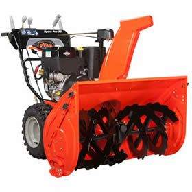 "Ariens 926053 Hydro Pro (28"") 420cc Two-Stage Snow Blower at Snow Blowers Direct includes free shipping, a factory-direct discount and a tax-free guarantee."