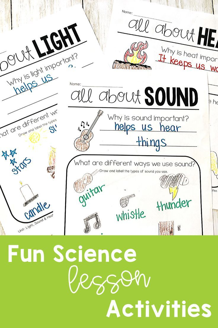 Science Lessons For Elementary First Grade Science Science Lessons Sound Science [ 1104 x 736 Pixel ]