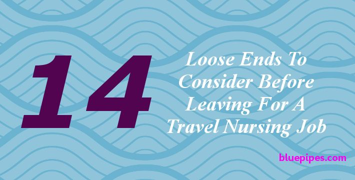 Things To Do Before Leaving For Travel Nursing Job Image