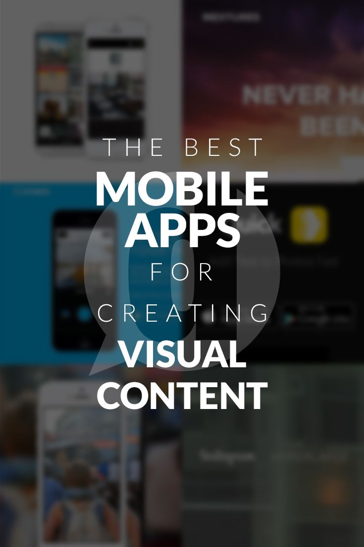 Whether you want to share a great quote or want your photos to look professional I've created this list of the best mobile apps to create visual content.