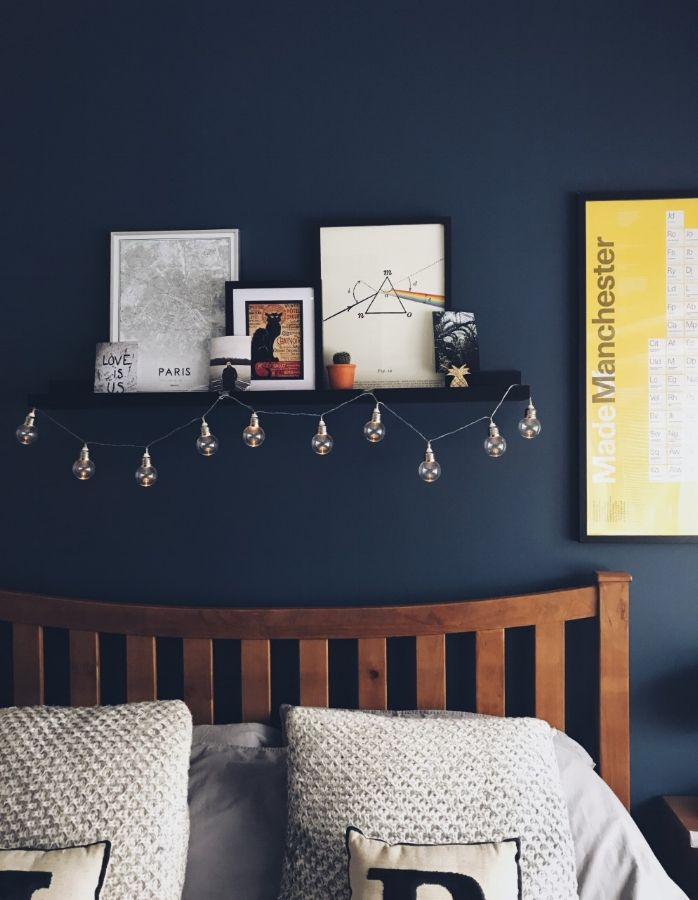 I have finally decided on my next wall colour Breton Blue by Dulux Endurance
