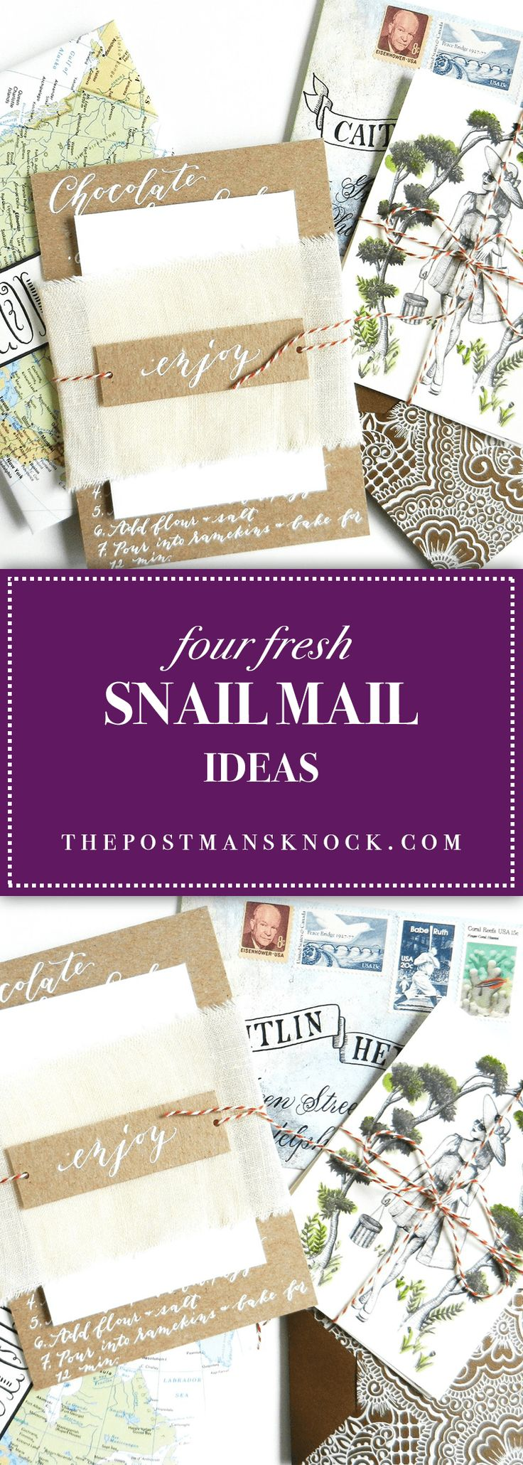 how to make invitation letter for vispurpose%0A Four Fresh Snail Mail Ideas