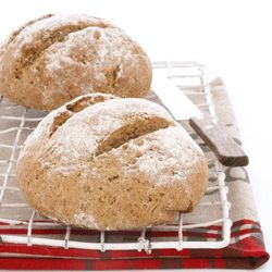 Bake your own #ryebread #Recipe  • 350g brown rye flour  • 150g wholewheat flour  • 7.5ml salt  • 1 x 10g packet instant yeast  • 10ml caraway seeds  • 40ml butter  • 30ml molasses    • about 400ml water