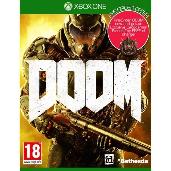 Doom Xbox One Game  Cacodemon Stress Toy (inc Demon Multiplayer Pack | http://gamesactions.com shares #new #latest #videogames #games for #pc #psp #ps3 #wii #xbox #nintendo #3ds