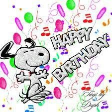Snoopy I hope you have a fantastic and fun day on your birthday cody