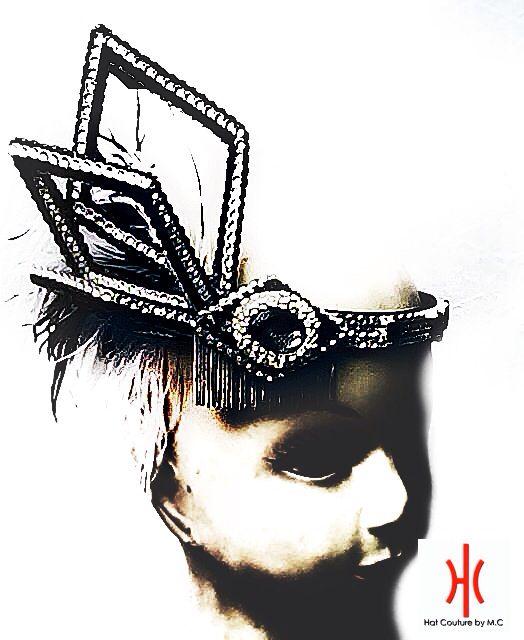 Custom made flapper headpiece