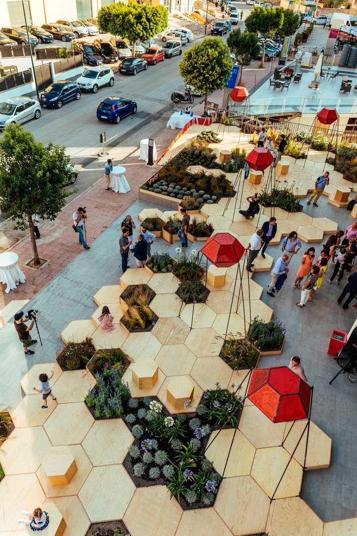 Un espacio urbano para disfrutar en tres dimensiones