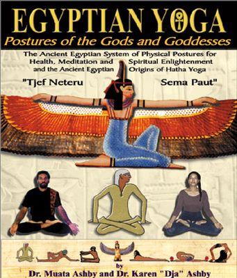 kemetic yoga postures | Pay for Egyptian Yoga: Postures of the Gods and Goddesses - Muata ...