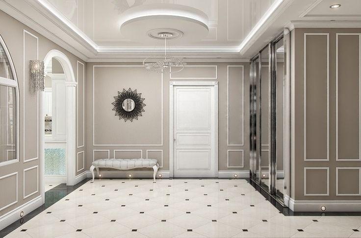 Дизайн квартиры в ЖК Александрия наши специалисты разработали с преобладанием белого цвета. Некоторые комнаты включают в себя серые и коричневые тона. Интерьер выполнен в современном стиле.