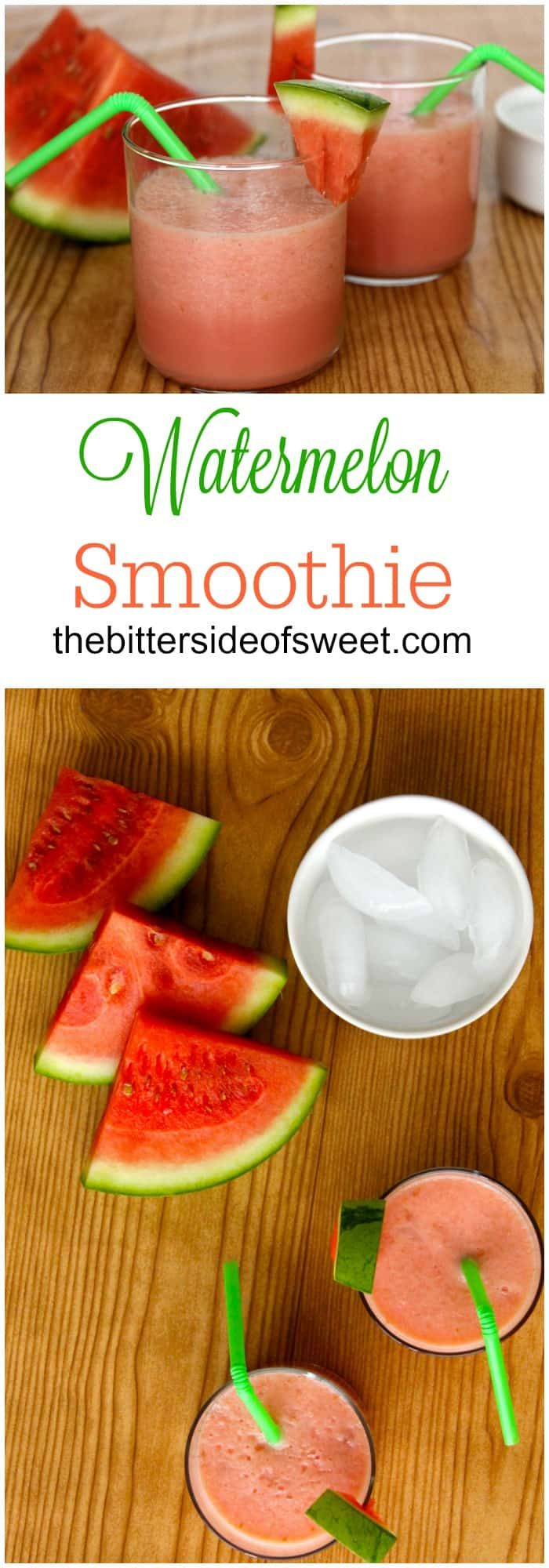 Watermelon Smoothie – The Bitter Side of Sweet