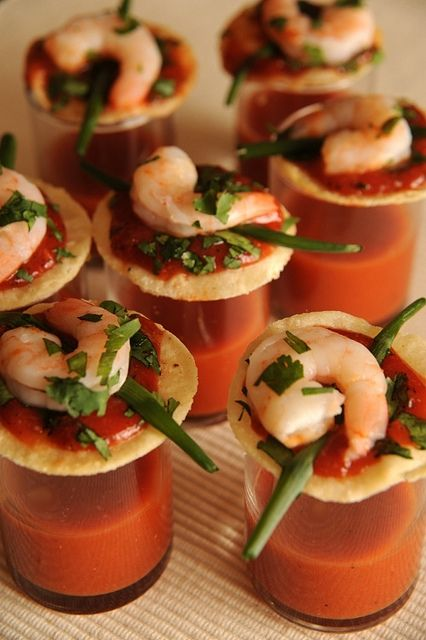 Shrimp Cocktail Shots by Everyday Southwest