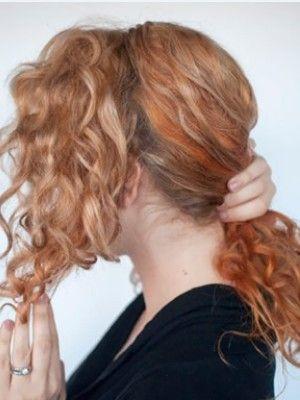 Причёски на кудрявые волосы средней длины и короткие: 18 фото