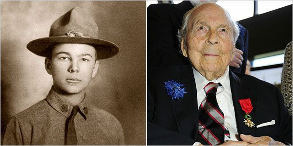 Frank Buckles, died at 110 in Feb 2011 - Last American World War I veteran