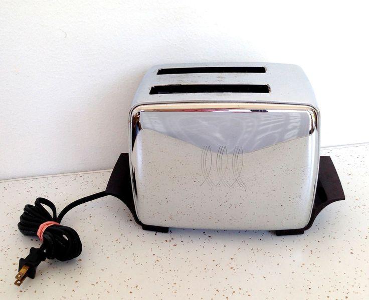 Vintage Toastmaster Powermatic Automatic Toaster #midcentury #toaster #retro #chrome #thriftytrendzbyjuls