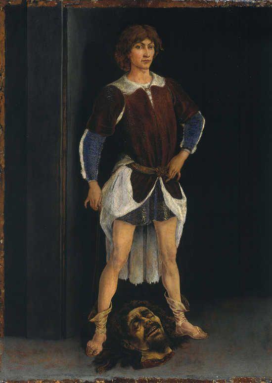Piero del Pollaiolo David vincitore, 1465 -1470 circa