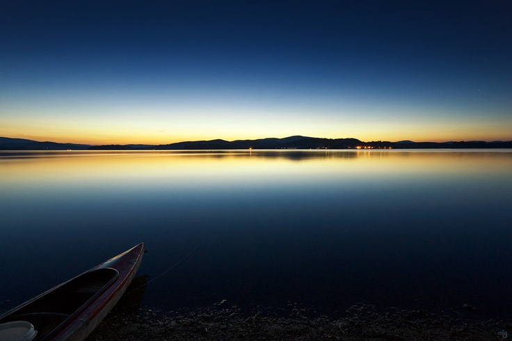 Lipno Lake in Czech Republic, beautiful nature here!