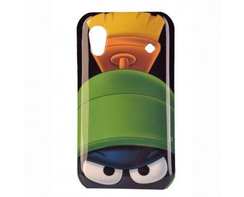 Tapa Looney Tunes Samsung Ace S5830 Space Marvin   Carcasa Samsung ACE Marvin, Marciano atento para proteger tu Smartphone o destruir la tierra?   ajuste perfecto, completo acceso a puertos, botones y completa protección   exterior suave para cómodo y agradable uso.   Síguenos en twitter: @gsm_chile