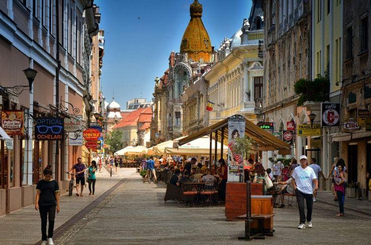 Oradea este orașul cu cel mai bun acces la magazine și restaurante
