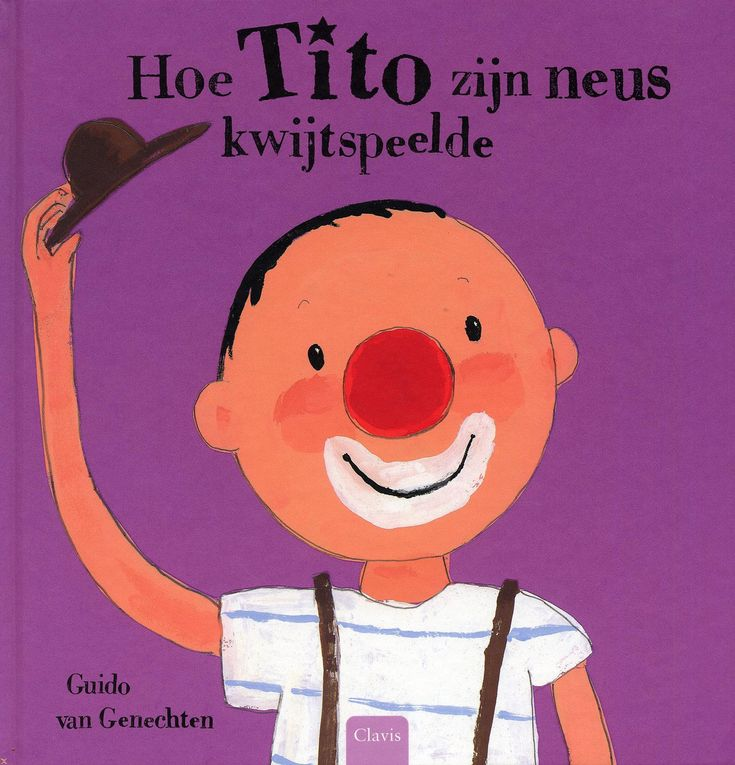 Hoe Tito zijn neus kwijtspeelde. Spel mee maken met gekleurde pomponnetjes en gekleurde neuzen