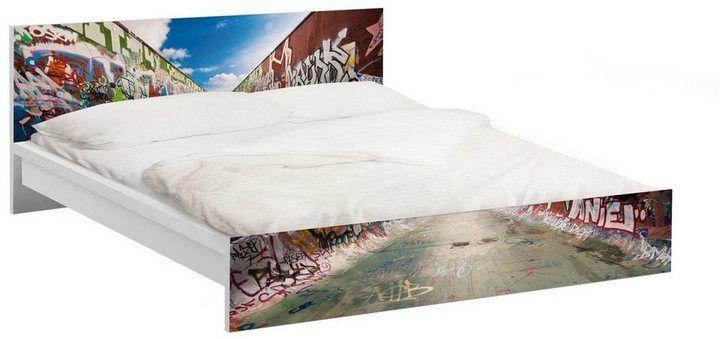 die besten 25 ikea bett ideen auf pinterest ikea bettgestelle metallbettrahmen und ikea. Black Bedroom Furniture Sets. Home Design Ideas