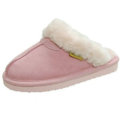 Brumby Womens Backless Sheepskin Slipper Brumby. $34.00